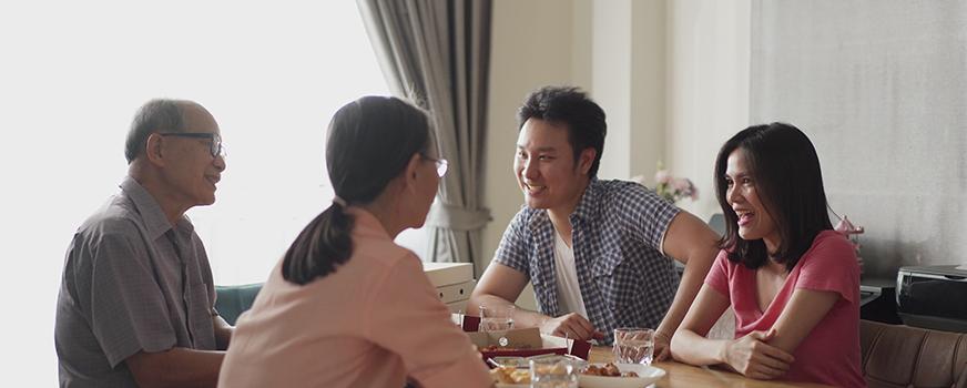 Couple Explaining Infertility to Family