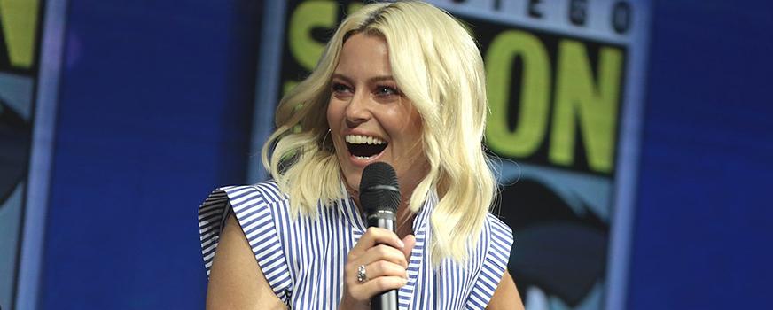 Elizabeth Banks at San Diego Comic Con